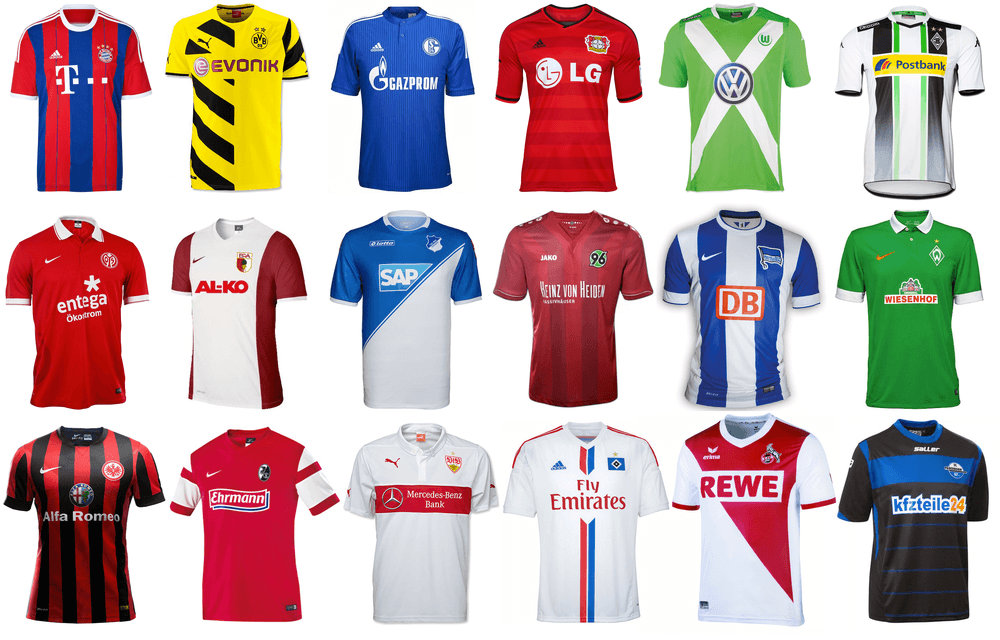 Trikots Bundesliga